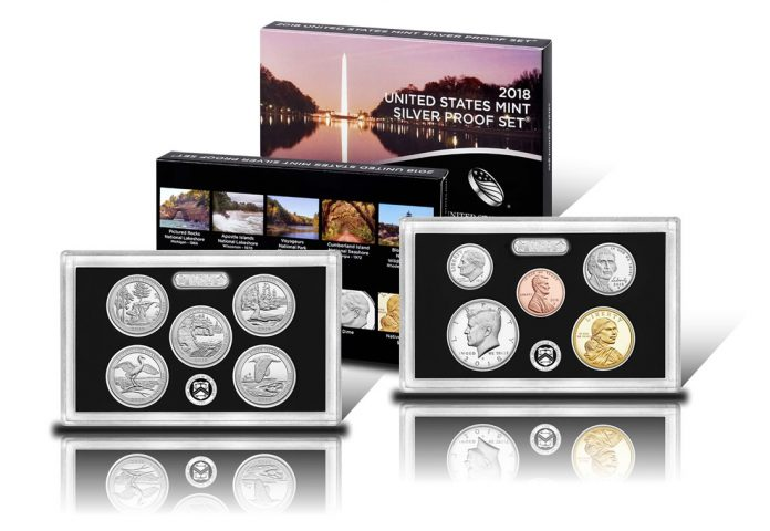 2018 Silv2018 Silver Proof Seter Proof Set