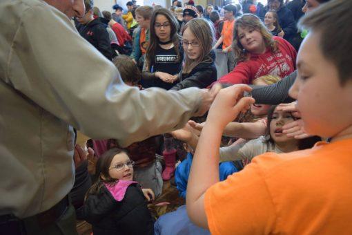 Children Receiving Free Apostle Islands Quarter