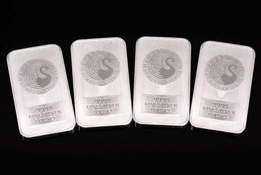 Perth Mint 9999 Fine 1 Ounce Silver Bars