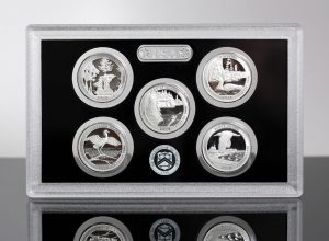 Photo of a 2018 America the Beautiful Quarters Silver Proof Set