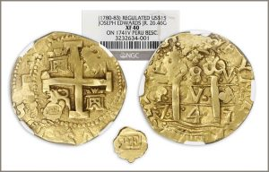 Gold Coins and Ingots Highlight May 15-16 Sedwick's Treasure Auction #23