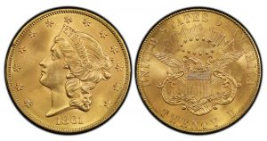 Rittenhouse 1792 Half Disme, 1861-P Paquet $20 at 2018 World's Fair of Money