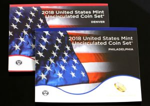 US Mint Sales: 2018 Uncirculated Coin Set Debuts