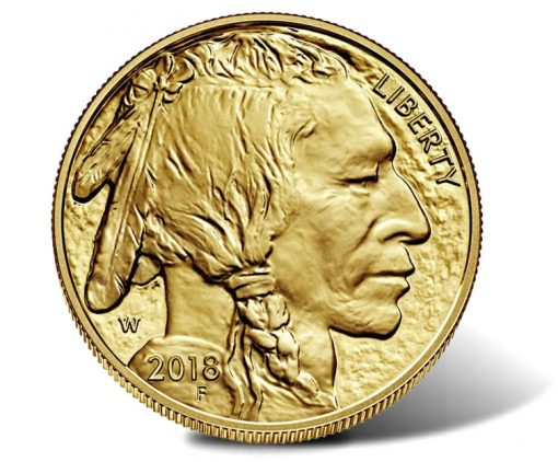 2018-W $50 Proof American Buffalo Gold Coin - Obverse