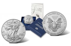 US Mint Sales: 2018 Uncirculated Silver Eagle Debuts