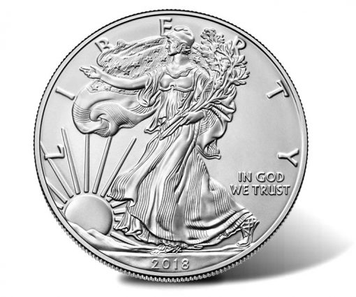 2018-W Uncirculated American Silver Eagle - Obverse