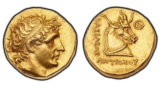 Antiochos gold Stater