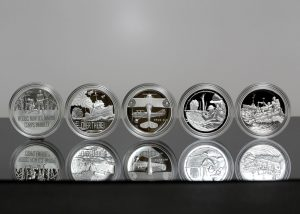 US Mint Sales: WWI Centennial Silver Medals Rising