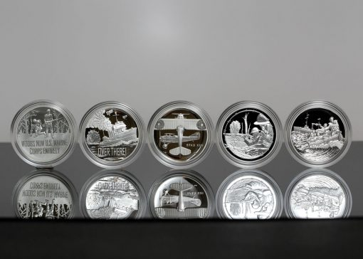 Photo of World War I Centennial 2018 Silver Medals-3