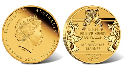 Royal Wedding 2018 1/4oz Gold Proof Coin