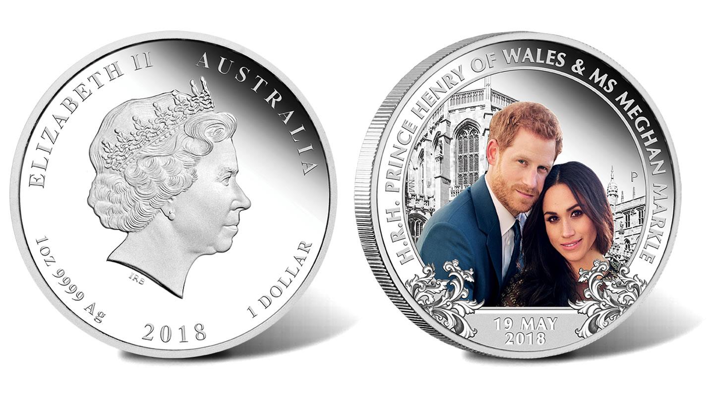 royal wedding coin 2018