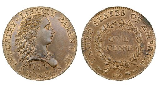1792 Birch cent back