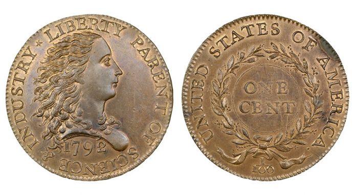 1792 Birch cent back