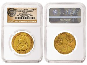 NGC Certifies Newman's 1792 Washington Gold Eagle