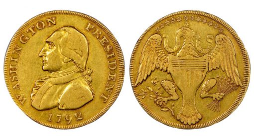 1792 Washington President Gold Eagle,a