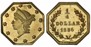SS Central America Treasure Includes Prooflike Fractional Gold Coins