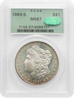 PCGS-Certified Morgans Score Record Prices in Sotheby's New York Auction