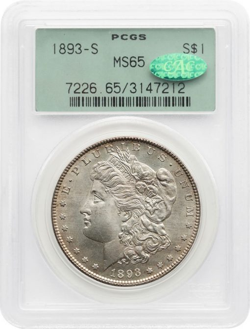 1893-S Morgan PCGS MS65