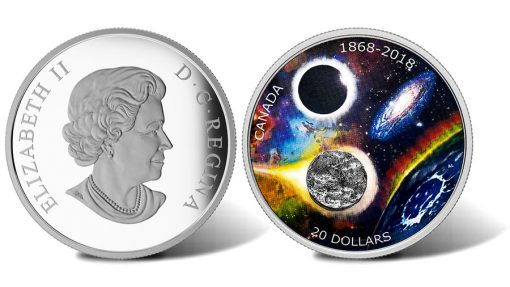 2018 $20 150th Anniversary of the RASC Silver Coin - Obverse and Reverse