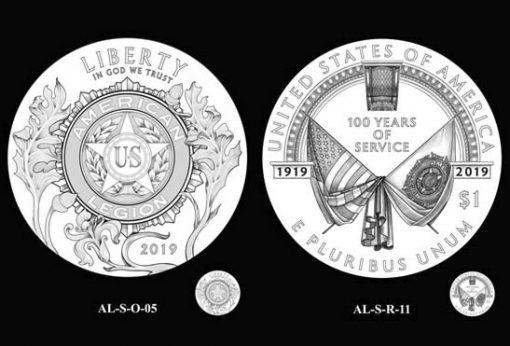 2019 American Legion Commemorative Silver Dollar Design Recommendations