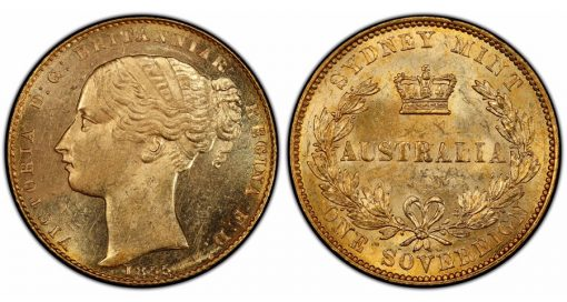 Australia 1855 Sovereign