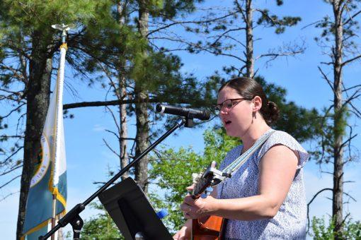 Folk musician Darcy Sullivan