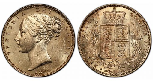 Great Britain 1852 Sovereign