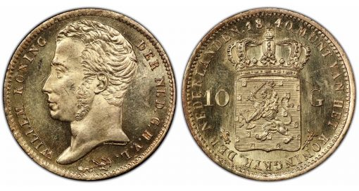 Netherlands 1840 10 Gulden