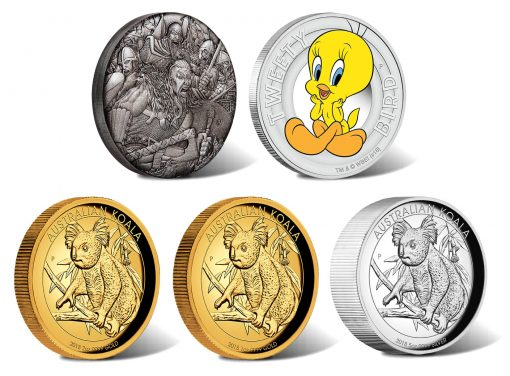 Perth Mint of Australia June 2018 Collector Coins