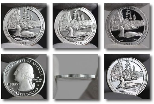 Photo of 2018 Voyageurs National Park Quarters