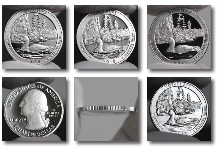 Voyageurs National Park Quarter Photos Coin News