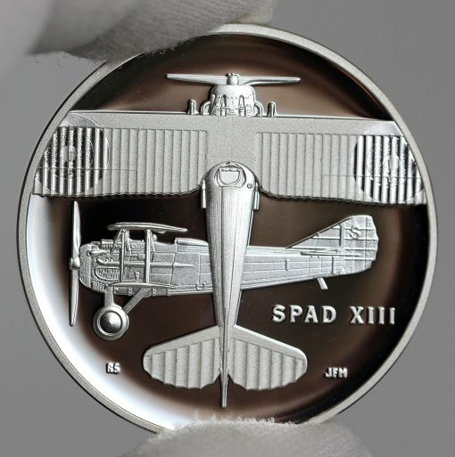 Photo of World War I Centennial 2018 Air Service Silver Medal - Obverse-a