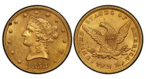 PCGS Discovers Rare Overdate Liberty Head Gold Eagle in Paris
