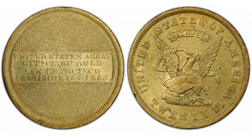 1853 US Assay 884 THOUS