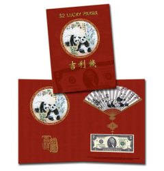 Lucky Panda $2 Note Features '888' Serial Number