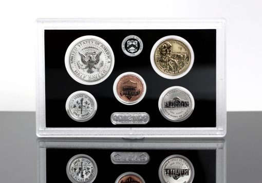 2018-S Silver Reverse Proof Set - Lens for $1, 50c, 10c, 5, 1c (Reverses)