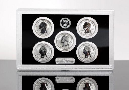 2018-S Silver Reverse Proof Set - Lens for Quarters (Obverses)