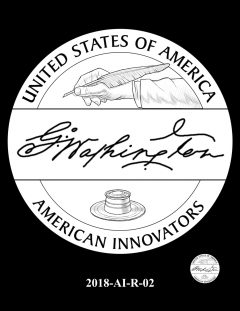 American Innovation $1 Coin Design Candidate 2018-AI-R-02
