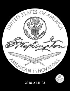 American Innovation $1 Coin Design Candidate 2018-AI-R-03
