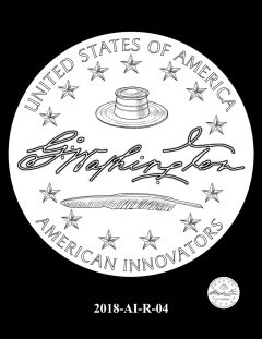 American Innovation $1 Coin Design Candidate 2018-AI-R-04