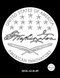 American Innovation $1 Coin Design Candidate 2018-AI-R-05