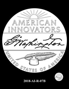 American Innovation $1 Coin Design Candidate 2018-AI-R-07B