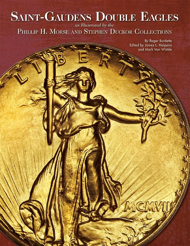 Cover of Saint-Gaudens Double Eagles Book
