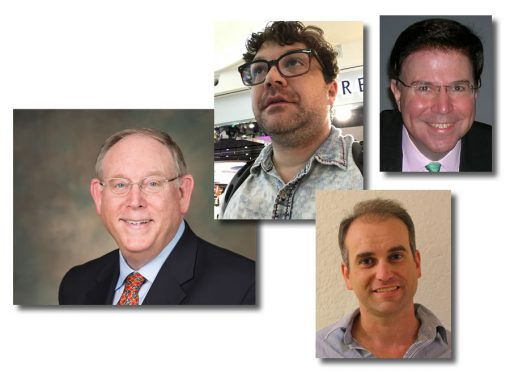 Donn Pearlman, Charles Morgan, Joshua McMorrow-Hernandez, and Scott Travers