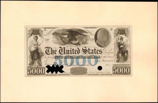 JEH-PR-$5000 1847 Hessler X115 Specimen