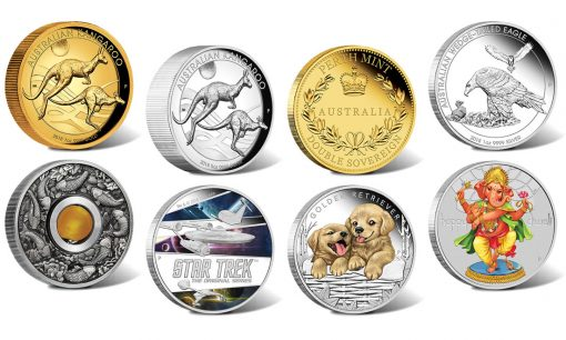 Perth Mint of Australia collector coins for July 2018