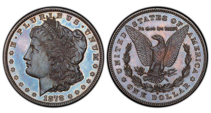 1878-S Morgan Silver Dollar PCGS SP65