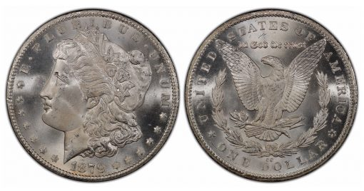 1879-CC Morgan PCGS MS66+