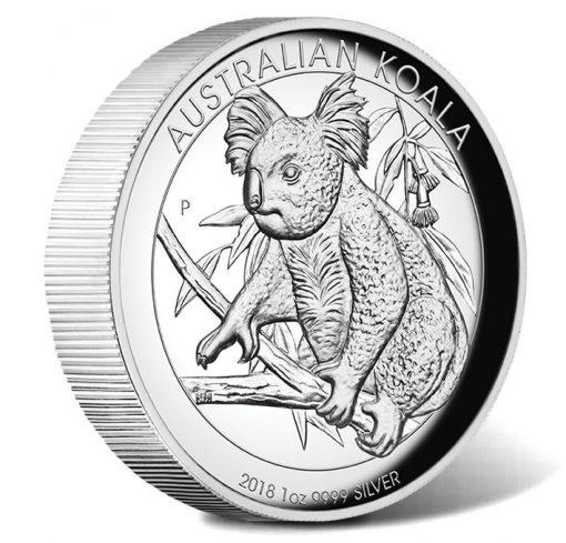 2018 Australian Koala 1oz Silver Proof High Relief Coin