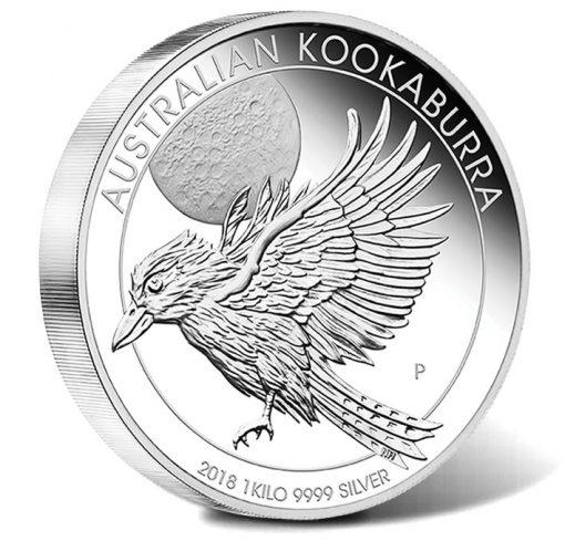 2018 Australian Kookaburra 1 Kilo Silver Proof Coin